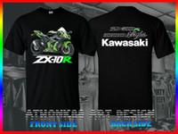 usa abs großhandel-Film-Hemd 2019 Ninja Zx-10R Abs Krt Edition Motorsport USA Größe Schwarz T-Shirt M-3Xl Neue Mode T-Shirt Grafik Brief
