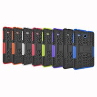 Wholesale waterproof shockproof samsung case online - Case For Samsung Galaxy Tab E T377 T375 T378 T377W SM T377 Back Cover Silicon Stand Armor Heavy Rugged Celulars Coque pen