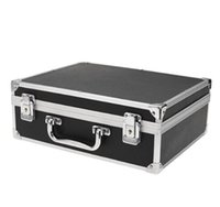 Wholesale shop kits - Wholesale New Hot Large Tattoo Kit Carrying Black Colors Case with Lock High Quality free shopping