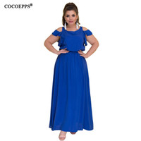 56cd7ad5f2 Blue Floral Plus Size Maxi Dress Canada | Best Selling Blue Floral ...