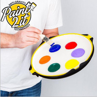 Wholesale paint trays - Paint plate Paint 2 It Painter Tool Plate Tray Anti Gravity PP Household Sundries Reduce Spills Fits Any Size Hand KKA4877