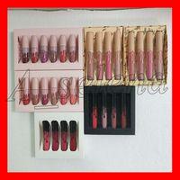 ingrosso lo stock-In magazzino inviami più nudi The Birthday Collection Lo voglio TUTTO Tutto rossetto liquido lipgloss 6pcs / set 4pcs / set