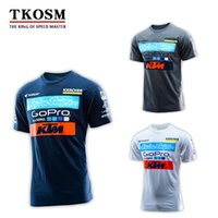 Wholesale Polyester Motocross - Factory Direct Sales Motorcycle Ktm T-shirt Motocross Cycling Motorbike KTM Jerseys MX MTB DH Off-Road Racing Jersey