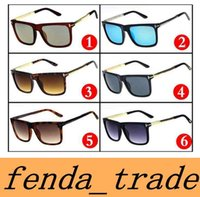 Wholesale Ford Brands - New Brand luxury High qualtiy New Fashion 0392 Tom Sunglasses For Man Woman Erika Eyewear ford Designer Brand Sun Glasses MOQ=10