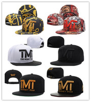 snap caps hats para la venta al por mayor-Top Sale THE MONEY TEAM Snapback Sport Hats Gorras ajustables Snapbacks Snap-back Gorra para adultos Envío Gratis