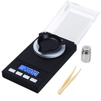 Wholesale digital reloading scale resale online - Accurate X g digital milligram scale reloading jewelry scale electronic digital weight for jewerly Powder medicinal portable scales