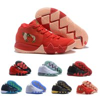 Wholesale Crazy Fashion - 2018 new fashion irving 4 CRAZY EXPLOSIVE mid kyrie Basketball sneaker Newest release for kyrie 4s Men's star Basketball sport Shoes