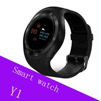Wholesale round smart watches for android phones online – Y1 Smart Watch Round Sharp Support Nano SIM with Whatsapp Facebook Business Smartwatch Push Message For IOS Android Phone
