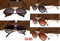 Wholesale western style frames for sale - Group buy New italy brand sunglasses women classic square frame western style vintage sun glasses male luxury designer shade glasses colors
