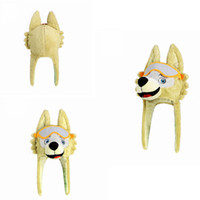 Wholesale souvenirs toys - 2018 Russia World Cup Mascot Zabivaka Wolf Hat Stuffed Plush Doll Caps FIFA World Cup Caps Souvenir Party Favor AAA284