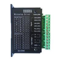 step motorlu makina toptan satış-Yeni 42/57/86 yükseltilmiş versiyonu TB6600 step motor sürücü 32 segment yükseltmeleri 4.0A 42VDC CNC router makine parçası araçları