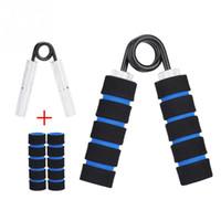 équipement d'exercice de poignée achat en gros de-100lbs Portable Un Type Pince En Alliage Printemps Haute Tension Grip Main Poignet Bras Force Exercice Fitness Gripper Fitness Équipement