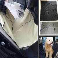 suministros de camiones al por mayor-Auto Pet Dog Perro Asientos de Coche Fundas de Gato A Prueba de agua Cojín Del Coche Para Coches Camiones Hamaca Convertible Suministros de Mascotas Accesorios 145 * 130 cm WX9-739