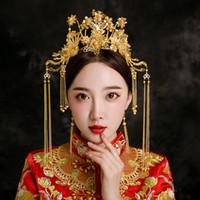 f0c5118ae015 Vendita all ingrosso di sconti Copricapo Da Sposa Cinese in messa da ...