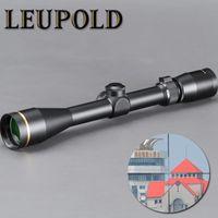 francotirador libre al por mayor-LEUPOLD VX-3 4.5-14X40mm Riflescope Alcance de la caza Tactical Sight Glass Reticle Free Mount Sniper Airsoft Gun Hunting