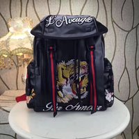 Wholesale backpack small light - Pink sugao backpack 9 color embroider animial high quality luxury bag purses backpacks designer backpack famous brand bag luxury backpack