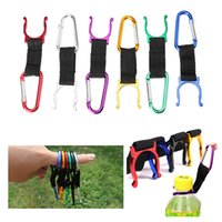 Discount outdoor survival gadgets - Outdoor Gadgets Aluminum Alloy Camping Carabiner Clip Water Bottle Buckle Hook Holder Camping Hiking Survival Traveling Tools