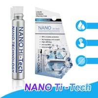 9cd0b49ba43 1 ML Liquid Nano Tech Protector de pantalla para iPhone X XR XS Max 8 Plus  Samsung S9 Plus IPad Air 3D Borde curvo Cubierta completa Vidrio templado  ...