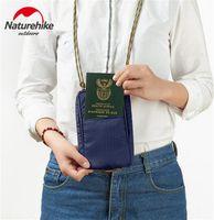 reisepass für reisen großhandel-Naturehike 200D Nylon wasserdichte Reisebrieftasche Tasche Multi Funktion Outdoor Sports Lauftasche für Cash-Passport-Karten-Geldbeutel
