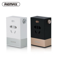 timer power sockets 2018 - REMAX Smart Wifi Plug Power Socket Wireless App Remote Control 2 USB Ports Timer Switch Wall Plug Home Appliance Automation Intelligent Plug
