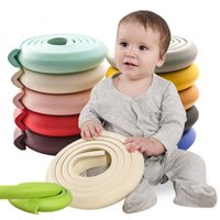 Wholesale baby safety edge online - 2M Children Protection Table Guard Strip Baby Safety Products Glass Edge Furniture Horror Crash Bar Corner Foam Bumper Collision