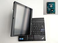 computadores portáteis preços venda por atacado-Preço de fábrica Usado laptop computador tablet de alta qualidade X201t I7 4G / 8G para o diagnóstico de automóveis e programação com HDD soft-ware para BMW