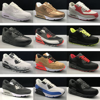 Wholesale Mens Sneakers Shoes classic Men and women Running Shoes Black Red White Sports Trainer Air Cushion Surface Breathable Sports Shoes