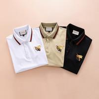 camisa elegante do projeto venda por atacado-Chegada nova estilo de design da marca dos homens T-shirt top quality moda T-shirt homem de algodão T -shirt D91