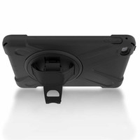 Wholesale ipad rugged heavy duty case for sale - Heavy Duty ShockProof Rugged Impact Hybrid Tough Armor Case For iPad Mini