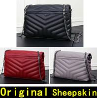 172bcb844a Wholesale designer handbags online - Saint Original sheepskin Genuine  Leather Shoulder Bags Designer Handbags high quality