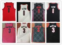 Wholesale ucla basketball jersey - UCLA 2018 New Men #0 Damian Lillard City Jerseys ,Wholesale Cheap 3# CJ McCollum All Stitched RipCity Lillard Basketball Jersey