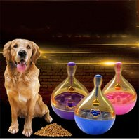 Wholesale Pet Plastic Material - Food Leakage Toys Pet Cat Dog Automatic Implement Puzzle Tumbler Ball Feeders Creative Plastic Resistance Bite Safety Material 8 5nd V