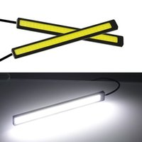 20X 17cm Universal COB DRL LED Daytime Running Lights Car Lamp External Lights Auto Waterproof Car Styling Led DRL Lamp