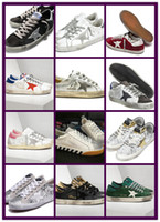 Wholesale High quality Golden Goose Ggdb old style sneakers Genuine Leather Villous Dermis Casual Shoes Mens And Women Luxury Superstar trainer