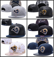 Wholesale Los Angeles Embroidery Rams hat Snapback adjustable hats for men Women snapbacks sport fashion