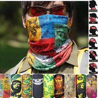 Wholesale clothes wraps for sale - bandana Outdoor Climbing Hiking Cycling Skiing Fishing Windproof UV Protection Camouflage Bandana Face Mask Neck Scarves Wraps Headwear