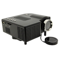 vga preto venda por atacado-Preto UC28 Mini Pico Portátil Home Theater Projetor de Cinema Projetor projetor beamer wWth VGA USB SD AV HDMI