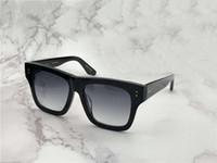 gläser da sonne großhandel-Mens Square Creator Pilot Sonnenbrille Schwarz / Grau Klassisch Sonnenbrille Occhiali da Sohle Luxus Designer Sonnenbrille Sonnenbrille Neu Wib Box