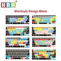 Wholesale silicone keyboard skins for sale - Group buy HRH Ableton Live Logic Pro X Avid Pro Tools Shortcut Keyboard Cover Skin For Macbook Air Retina All Before