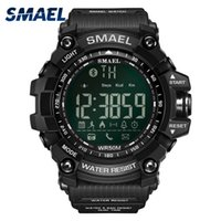 Wholesale Link Lead - Fashion Casual Wrist Watches Smail Brand Golden Style Multifunction Bluetooth Link LED Smart Digital Watches Waterproof Clock