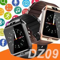 mp3 watch bluetooth водонепроницаемый оптовых-DZ09 умные часы GT08 для Android У8 А1 samsung смарт-часы SIM-интеллектуальное мобильный телефон часы может записать состояние сна смарт часы