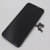 lcd cep telefonları için ekranlar toptan satış-FULCLOUD-3 iPhone için x ekran montaj meclisi Çözünürlük 1920x1080 Kapasitif Ekran LCD Ekran Panelleri Cep Telefonu Dokunmatik Paneller