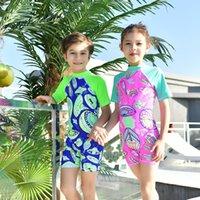 yüzme neopren kıyafeti toptan satış-Erkek Kız Neopren Yüzmek Özel Teklif çocuk Wetsuit Sörf Şnorkel Çocuklar Dalış takım Mayo Süper Markdown yumuşak sıcak Sıcak ürünler