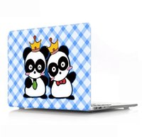 Wholesale A lovely and convenient notebook to protect the hard shell Cartoon and Animal Laptop Body Shell Protective Rubberized Hard Case for Macbook