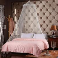 outdoor insektenvorhang großhandel-Bett Moskitonetz Canopy Netting Vorhang Dome Fly Mücken Insekt Stoppen im Freien