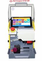 máquinas de corte portátiles al por mayor-Máquina de corte automática de teclas de 8.3 pulgadas Original SEC-E9 Máquina de corte de llaves duplicadas inteligentes portátiles SEG E9 Multi-Lenguaje