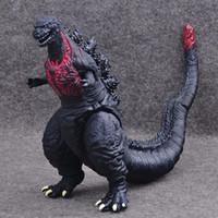 cartoon ultraman venda por atacado-30 cm Godzilla Action Figure Collectible Modelo Brinquedos Meninos Crianças Brinquedos Infantis Anime Dos Desenhos Animados Filme Ultraman Monstros