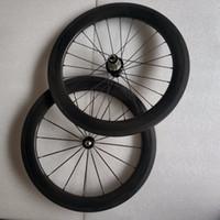 складывающиеся велосипедные диски оптовых-SEMA углерода колеса 20inch451-50mm колесная пара с hubsmith и R36 углерода концентратор для дахон складной велосипед лучшее качество колеса