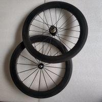 faltrad carbon räder großhandel-SEMA carbon räder 20 inch451-50mm laufradsatz mit hubsmith und R36 carbon hub für Dahon faltrad beste qualität räder