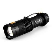 uv 365nm el feneri toptan satış-UltraFire 365NM UV El Feneri Mor Su Geçirmez Teleskopik Odaklama El Feneri El Feneri Odak Ayarlanabilir Mini Torch Lambası Ücretsiz Kargo